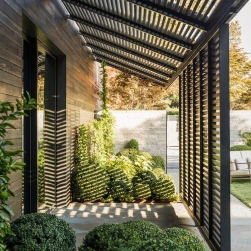 The French Laundry Renovation - Wood Awning